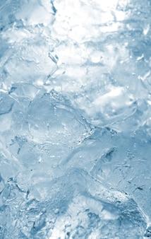 Textura padrão de fundo de gelo.
