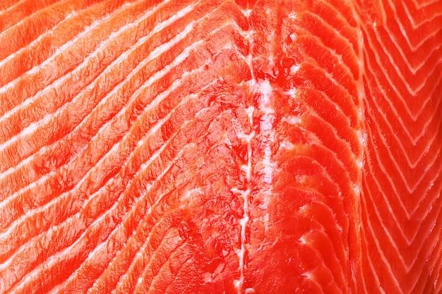 Textura peixe salmão