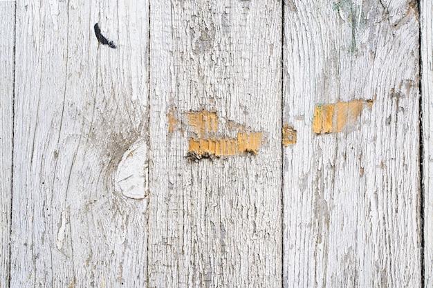Textura pintada de madeira velha.