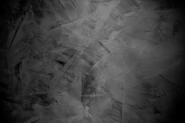 Textura preta e cinza com design de concreto