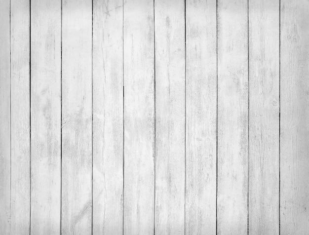 Textura preto e branca de pranchas de madeira em branco.