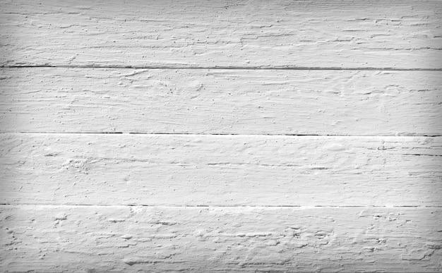 Textura preto e branco de pranchas de madeira em branco