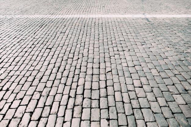 Textura quadrada de pedra de pavimentação.