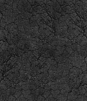 Textura rachada do asfalto