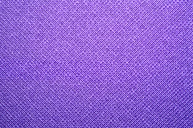 Textura roxa de tapete de ioga