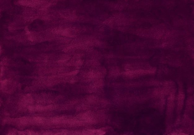 Textura roxa escura do fundo da cor da aquarela, pintado à mão. antigo fundo aquarela violeta profundo. sobreposição de líquido sujo.