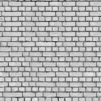 Textura sem emenda da parede de tijolo cinza.