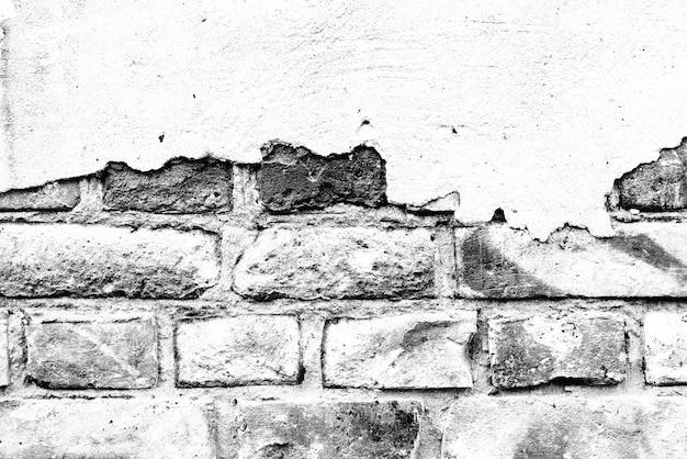 Textura, tijolo, fundo de parede. textura de tijolo com arranhões e rachaduras