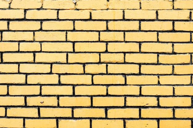 Textura, tijolo, parede, plano de fundo. textura de tijolo com arranhões e rachaduras