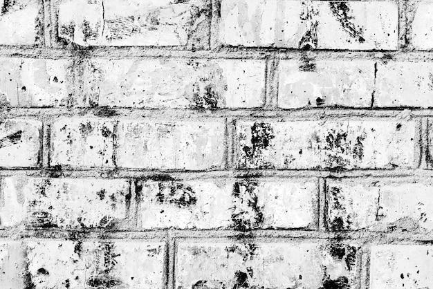 Textura, tijolo, parede, pode ser usado como pano de fundo. textura de tijolo com arranhões e rachaduras Foto Premium