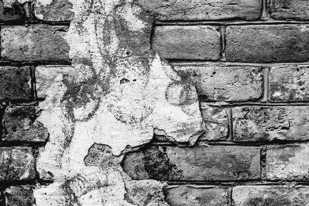 Textura, tijolo, parede, pode ser usado como pano de fundo. textura de tijolos com arranhões e rachaduras