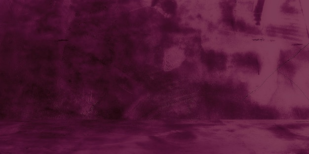 Textura velha da parede de concreto surrada com parede de concreto roxo rachado do estúdio abstrato fundo do grunge ...