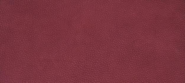 Textura vermelha de couro