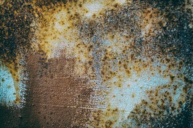 Texturas abstratas de ferro com textura multicolorida