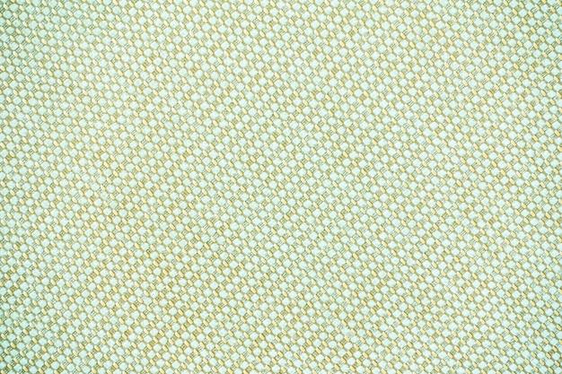 Texturas de algodão branco e superfície