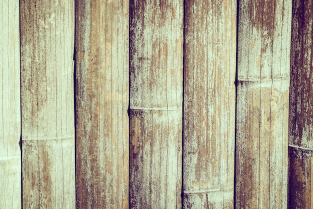 Texturas de bambu fundo velho