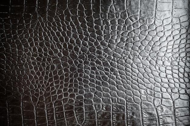 Texturas de couro preto