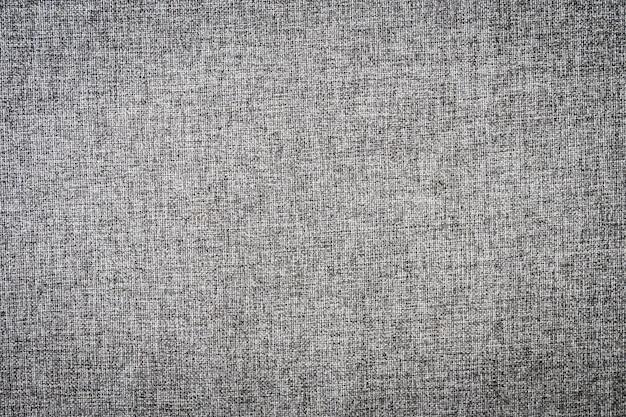 Texturas de linho de algodão cinza abstrato