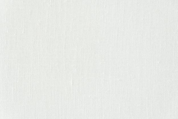 Texturas de lona branca abstrata e superfície