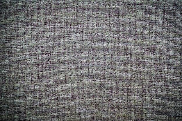Texturas de lona de algodão e superfície