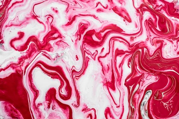 Texturas de mármore rosa tinta líquida fundo convite casamento