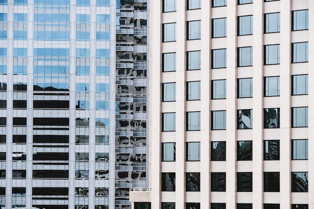 Texturas de padrão de janela do edifício