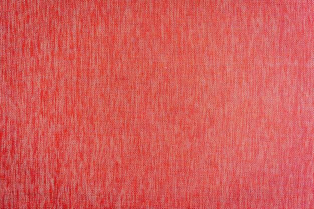 Texturas de tecido vermelho e superfície