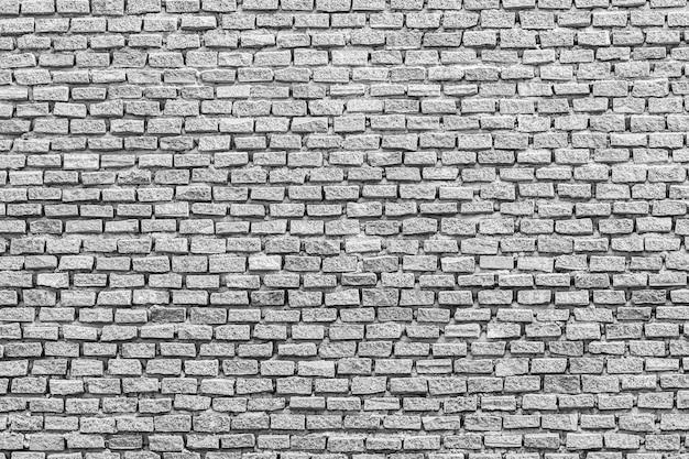 Texturas e fundo de tijolos brancos e cinza
