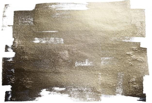 Texturas em aquarela de ouro e prata fundos