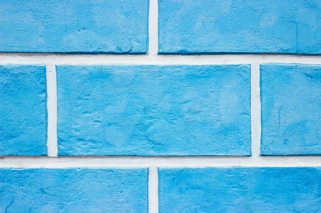 Texturas na parede azul