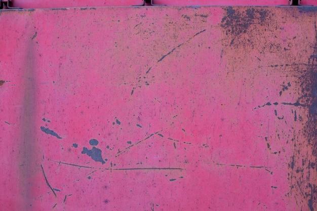 Texture a ferrugem e a pintura
