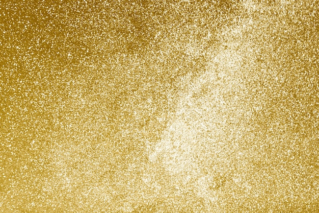 Texturizado com glitter dourado brilhante