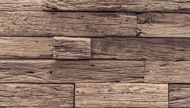 Texturizado de fundo de prancha de madeira vintage velho