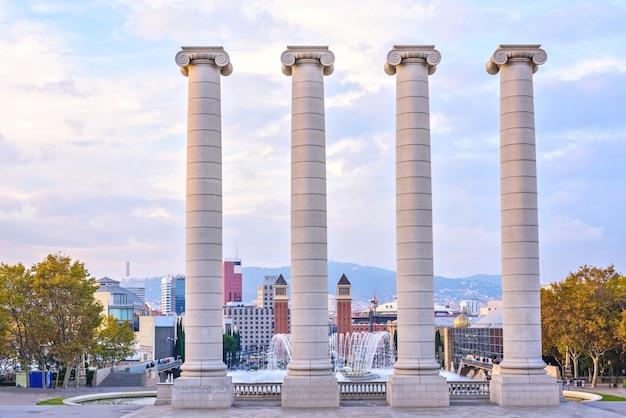 The four columns, barcelona, espanha