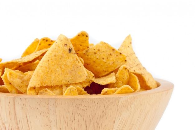Tigela cheia de batatas fritas