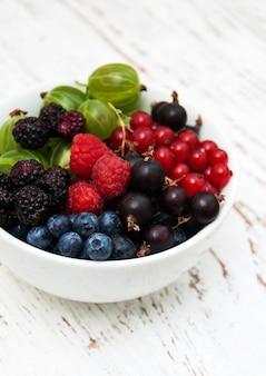 Tigela com frutas