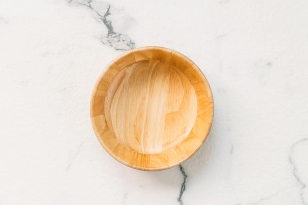 Tigela de madeira