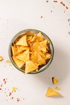 Tigela de nachos