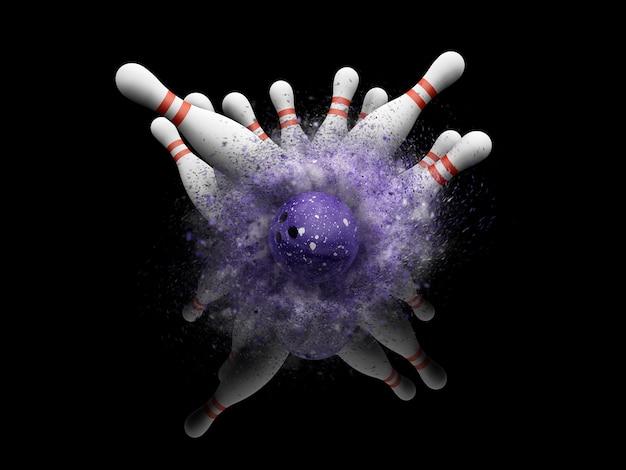 Tigelas de bowling