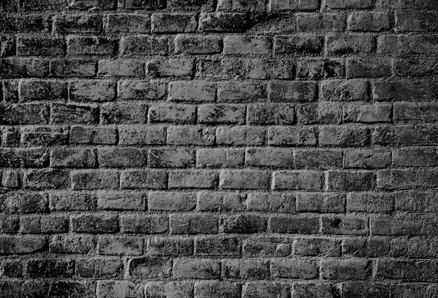 Tijolo escuro textura da parede