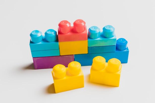 Tijolos de brinquedo