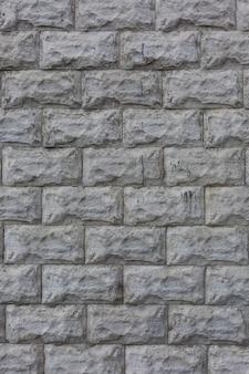 Tijolos de pedra azulejos textura de parede vertical