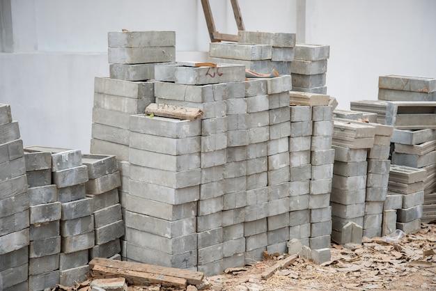 Tijolos para construção