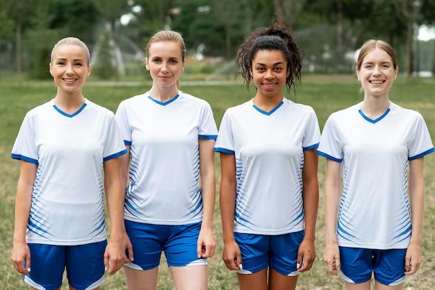 Time feminino de futebol feminino