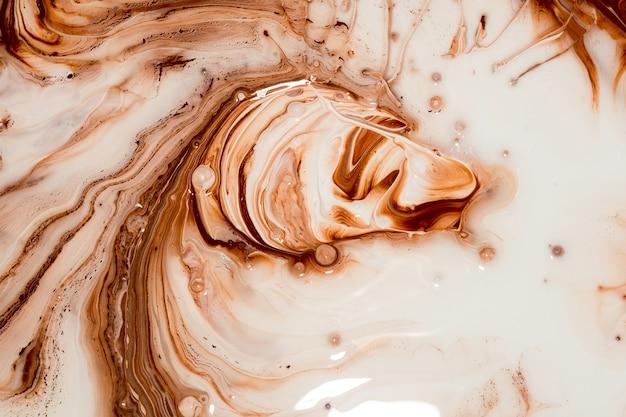 Tinta marrom para misturar cores