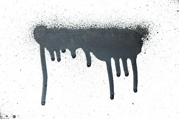 Tinta spray preta