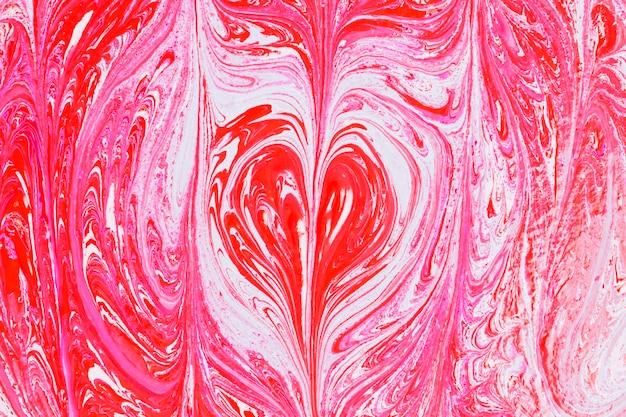 Tinta vermelha abstrata