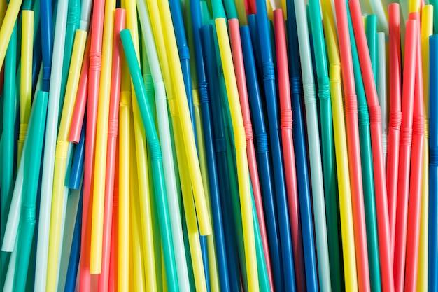 Tintas de plástico colorido