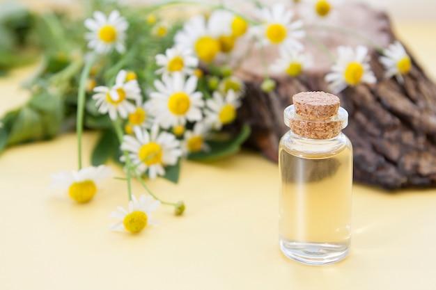 Tintura ou essência de flores de camomila