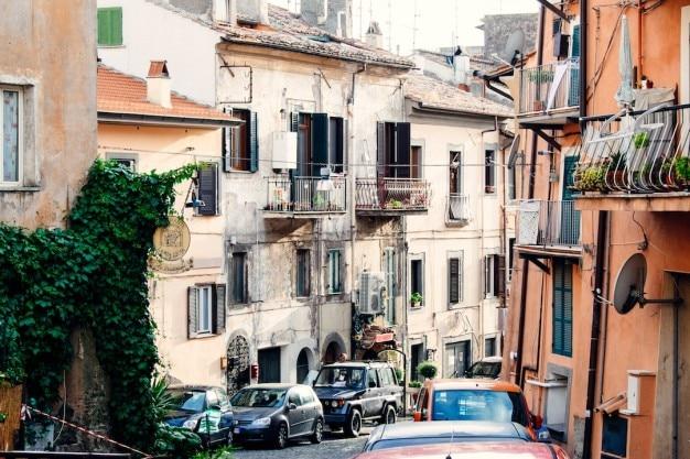 Típica rua
